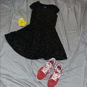 Black and gold girls dress!